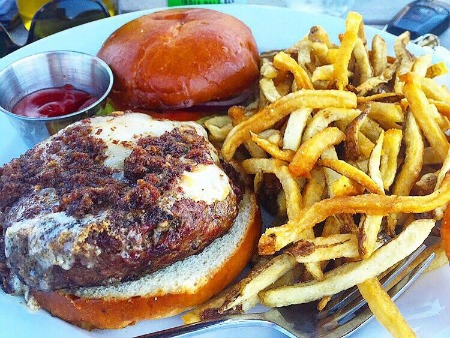Navy Beach Burger
