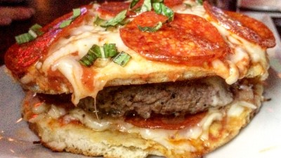 The Grayson Pizza Burger