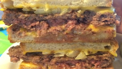 The Grill Patty Melt